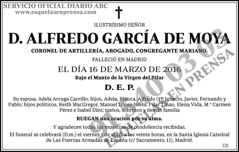 Alfredo García de Moya